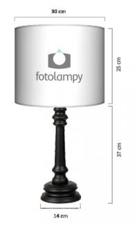 Lampa Queen - Coffee time blackLampa Queen - Coffee time black
