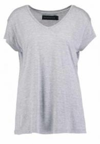 NEVER DENIM - T-shirt basic - grey melange