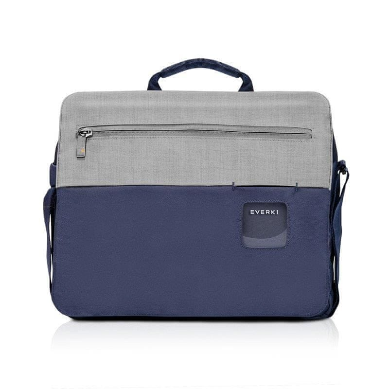 "Everki torba na laptopa CONTEMPRO SHOULDER BAG 14,1"" niebieska BAGBR-EVR-CPSB-14NV"